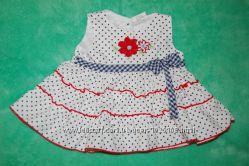 Платья для девочек GEORGE, BABY GIRL 0-3 мес, 9-18 мес бу