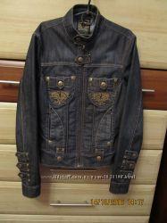 Джинсовый костюм джинсы и куртка Германия разм S можно отдельно сост нового