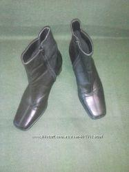 Демисезонные ботинки 38 р кожа