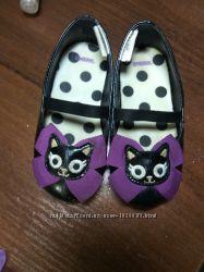 Туфли Gymboree кошки