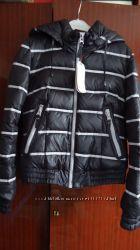 Зимняя короткая куртка-пуховик С-ка