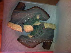 Фирменные демисезонные ботинки, стелька 25см