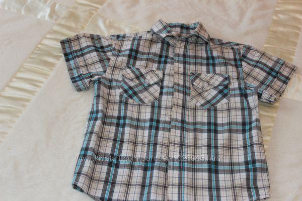 Красивая тениска для мальчика 104р.