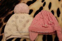 Красивые шапочки для девочки 0-18 месяцев