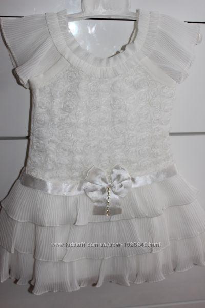 Нарядное платье 92 р,