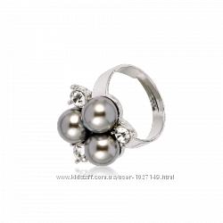 Кольцо Серебристый жемчуг