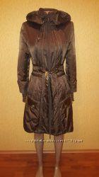 Балоньевое пальто имитация 34