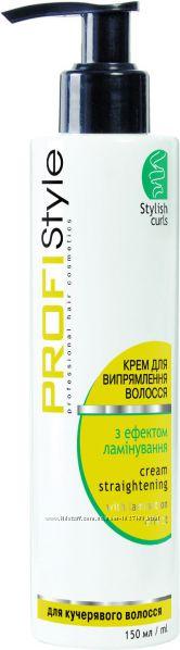 Крем для выпрямления волос, с эффектом ламинирования, 150 мл