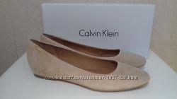 Балетки Calvin Klein нежного песочного цвета