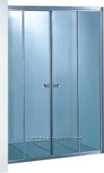 Душевая дверь для установки в нишу Ko&Po 7052 F, четырехсекционная