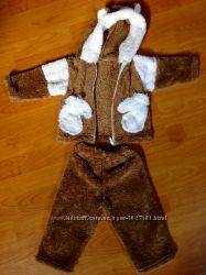 Теплый костюм комплект на годик Состояние нового