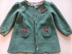Стильне пальто для дівчинки на теплу весну, осінь