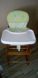 Деревянный стульчик для кормления Geoby