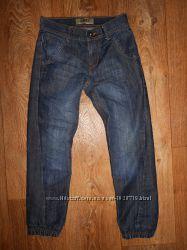 Модные джинсы джоггеры Denim Co на мальчика 7-8лет. 122-128см.