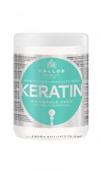 Kallos Keratin маска с кератином и молочным протеином, 1л