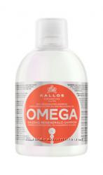 Kallos Omega 6 шампунь для секущихся волос с комплексом Омега-6 и маслом ма