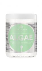 Kallos маска с экстрактом водорослей  оливковым маслом, 1л