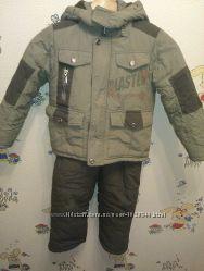 Куртка и полукомбинезон зимние рост 110