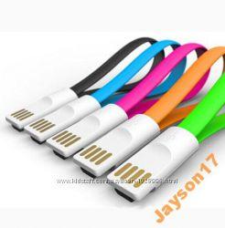 Micro USB кабель магнит 22см