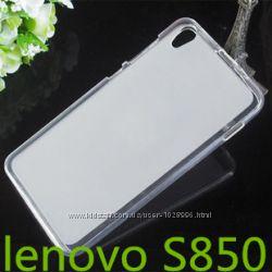 Силиконовый чехол бампер для Lenovo S850