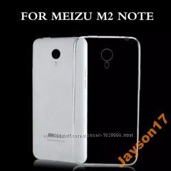 Чехол бампер прозрачный 0, 3мм для Meizu M2 NOTE