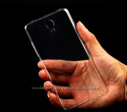 Прозрачный TPU чехол 0, 3мм Xiaomi Redmi Note 2