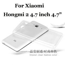Прозрачный TPU чехол 0, 3мм Xiaomi Redmi 2
