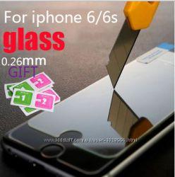 Защитное стекло 0, 26mm для iPhone 6, 6s