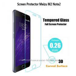 Защитное стекло 0. 26 мм для Meizu M2 Note 2. 5D