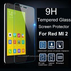 Защитное стекло 0. 26mm для Xiaomi Redmi 2 4, 7&acute&acute