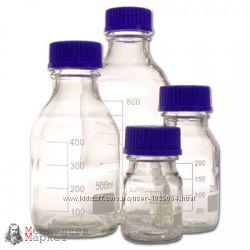 Бутыль для реактивов 100мл с винтовой крышкой