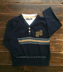 Пуловер REBEL на мальчика 4-5 лет в отличном состоянии