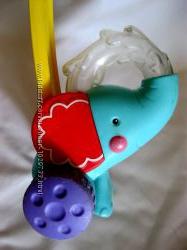 Игрушка-каталка слоник Fisher price