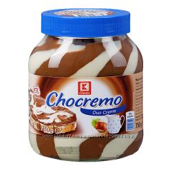 Шоколадные пасты Chocremo, NUSS MILK, Chocofini