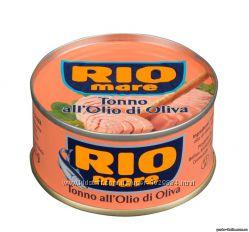 Тунец в оливковом масле Rio Mare All Olio di oliva