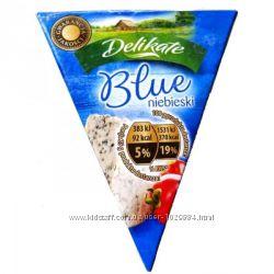 Сыр с голубой плесенью Delikate Blue niebieski 100г