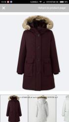 Пролет Uniqlo зимняя женская куртка М-L