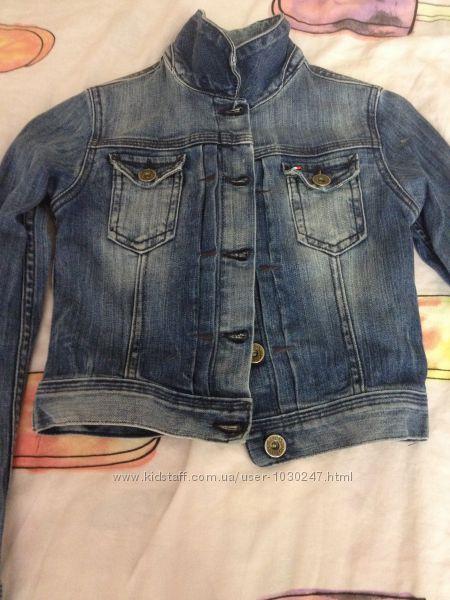 Джинсова куртка-піджак