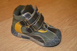 Утепленные ботинки для мальчика, 20размер