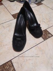 туфли замшевые нарядные
