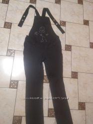 комбинезон джинс для беременной