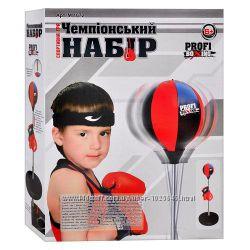 Боксерские наборы для детей, груши, перчатки