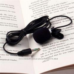 Микрофон петличка 3, 5 мм