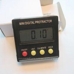 Угломер цифровой уклономер одноосевой мини транспортир точность 0, 1 градус