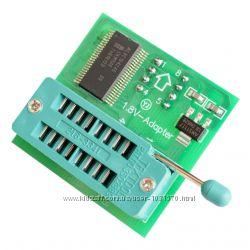 Адаптер колодка для TL866A 1. 8V SPI Flash SOP8 DIP8 W25 MX25