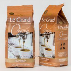 Зернова кава Le Grand Crema, Espresso - Арабіка