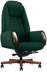 Кресло руководителя кожаное БОИНГ GL