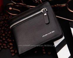 Мужской кошелек стильный дизайн и качественный материал