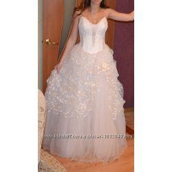 цена снижена свадебное платье