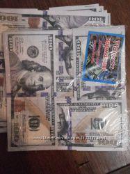 Новогодний декор, сувенирные денежные гирлянды